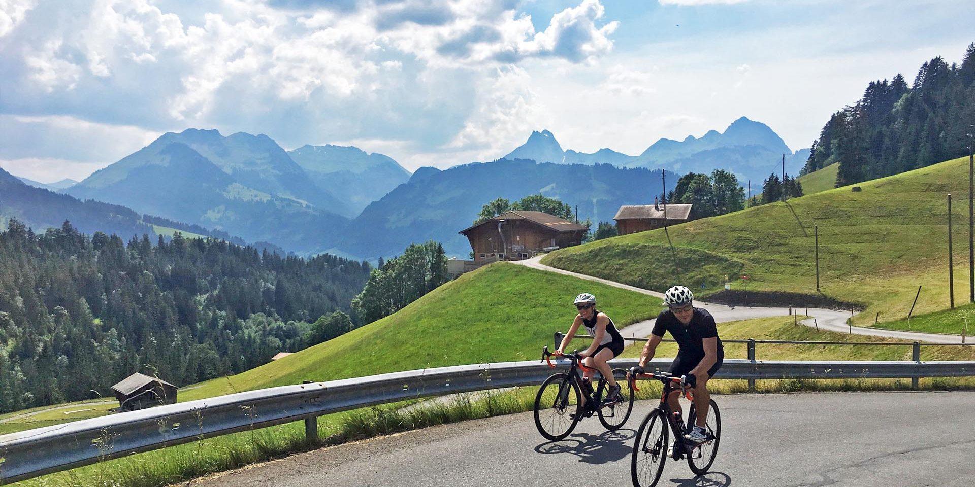 La Suisse A Velo Itineraire